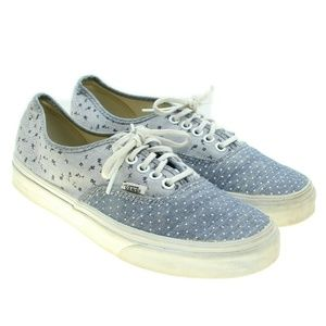 VANS Floral Polka Dots Canvas Sneakers